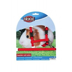 "Набор ""Trixie"" (шлея и поводок) для морских свинок"