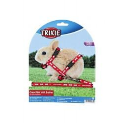 """Набор """"Trixie"""" (шлея и поводок) для маленьких кроликов"""