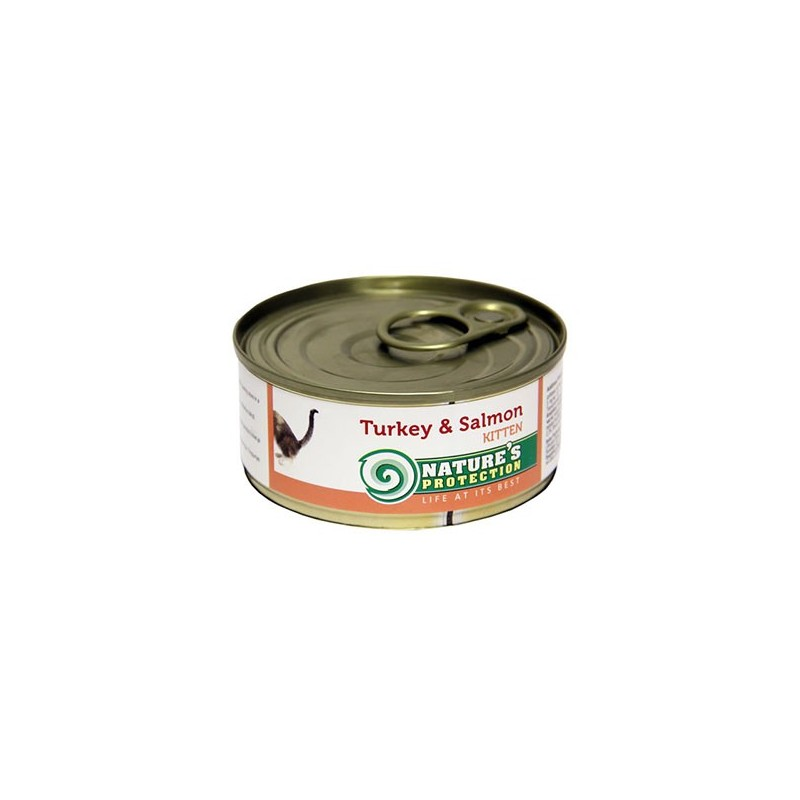 NP Kitten Turkey & Salmon (Индейка, лосось)