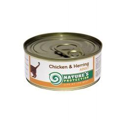 NP Cat Chicken & Herring (Курица, сельдь)
