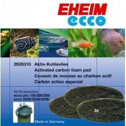 Фильтрующий материал ECCO PRO /губка угольная/ 3 шт