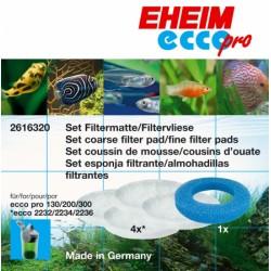Фильтрующий материал Eheim ECCO PRO /1 губка + 4 синтепона/