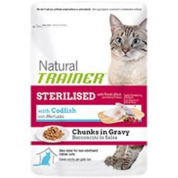 Trainer Natural Sterilised Codfish, 85 гр