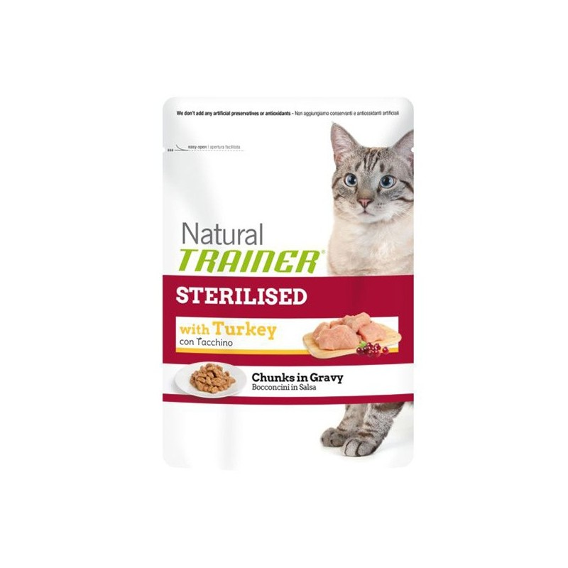 Trainer Natural Pouch Turkey Sterilised