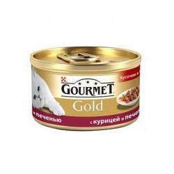 Gourmet Gold (Кусочки с курицей и печенью)