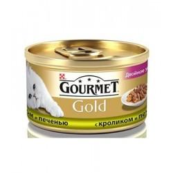 Gourmet Gold (кусочки с кроликом и печенью)