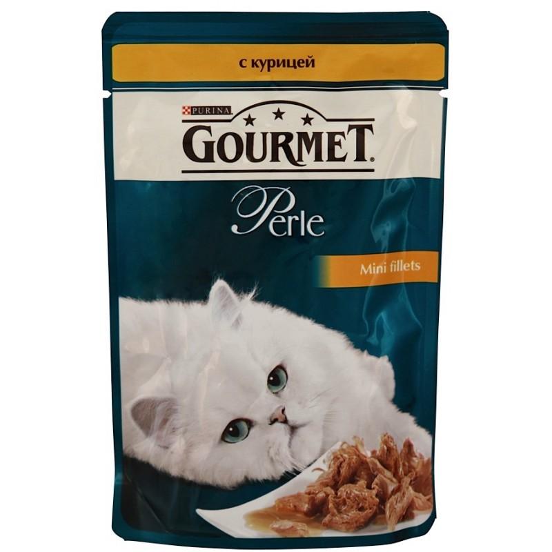 Gourmet Perle (с курицей в подливке)