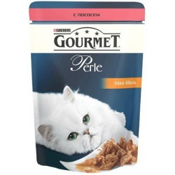 Gourmet Perle (с лососем в подливке)