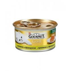 Gourmet Gold (кусочки кролика по-французски в паштете)