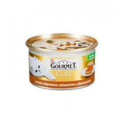 Gourmet Gold (Паштет с уткой, морковью и шпинатом)