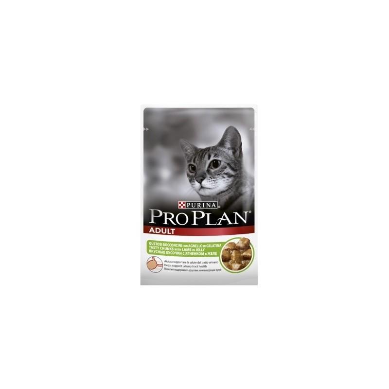 Pro Plan Влажный корм для взрослых кошек (Ягненок)