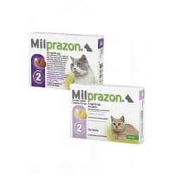 KRKA Милпразон таблетки для кошек