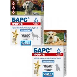 Агроветзащита Барс ФОРТЕ капли для собак