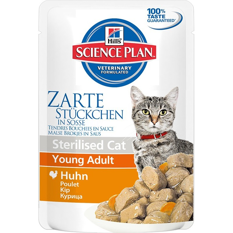 Hill′s Science Plan Feline Young Adult Sterilised Cat Chicken