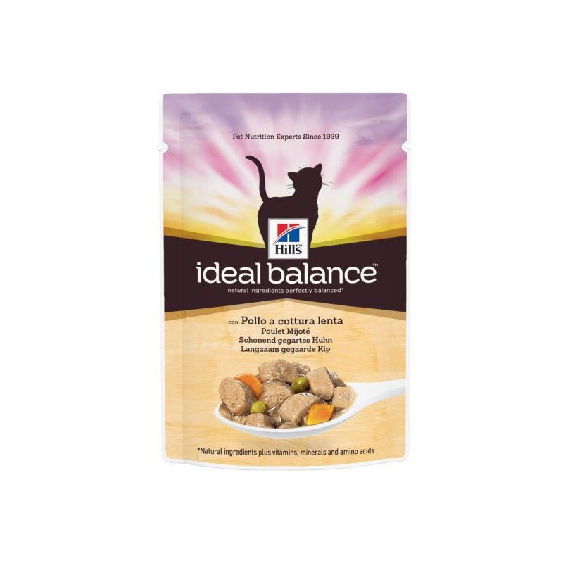 Hill′s Ideal Balance Feline Adult Chicken&Vg