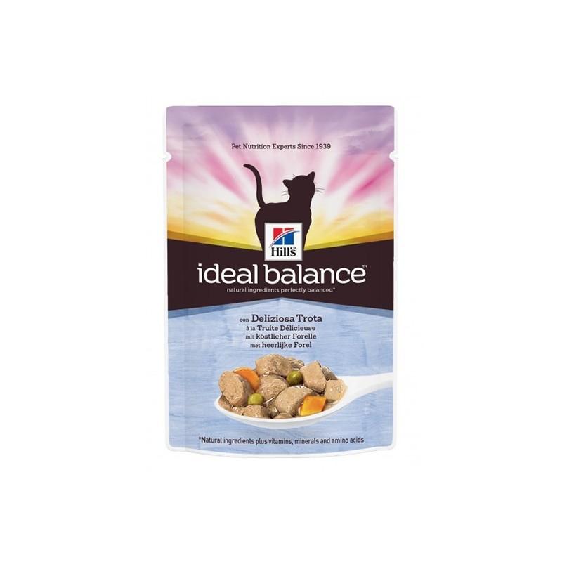 Hill′s Ideal Balance Feline Adult Trout&Vg