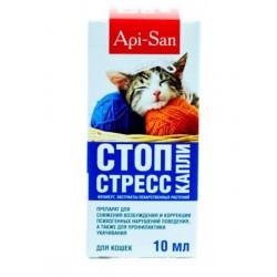 Апи-Сан Стоп-стресс для кошек (капли)