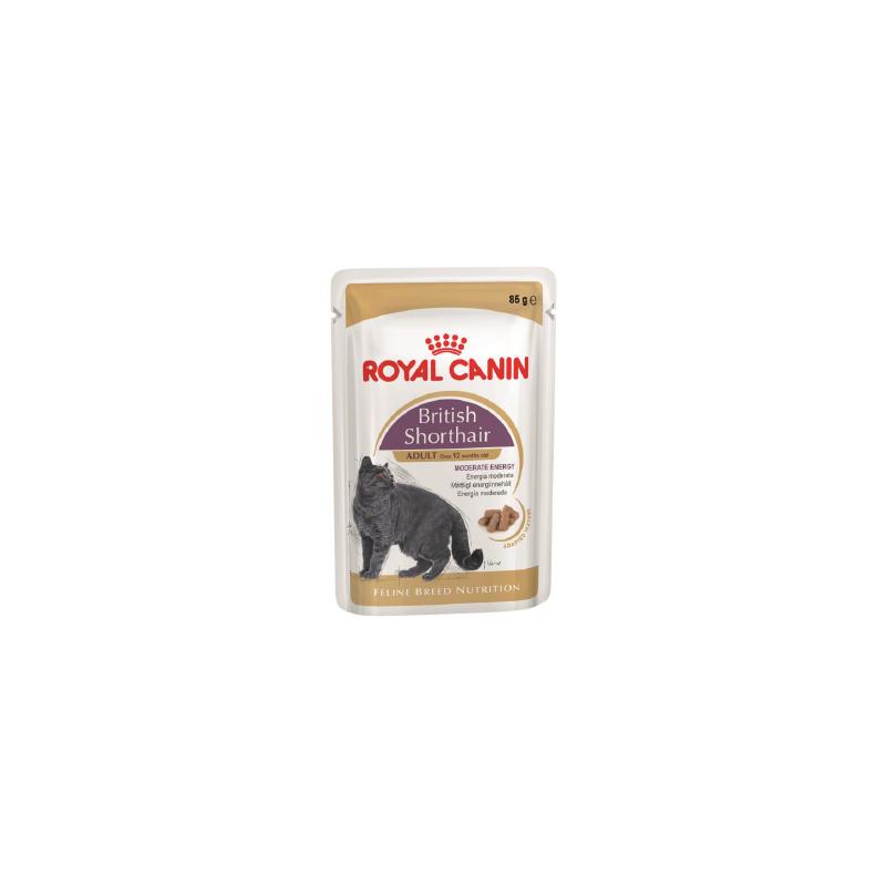 Royal Canin British Shorthair (в соусе), 85 гр