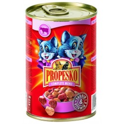 Propesko Chunks Cat (Говядина, печень), 415 г