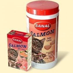 Sanal для кошек лосось, 85 таблеток