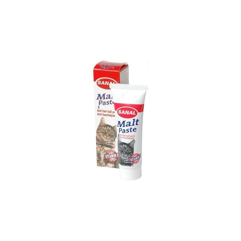 Sanal для кошек мальт паста, 100 грамм