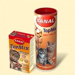 Sanal для кошек Топ-микс, 400 таблеток