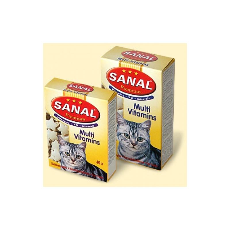 Sanal для кошек премиум, 85 таблеток