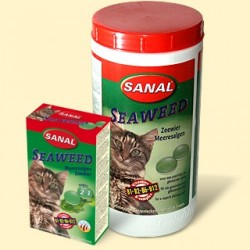 Sanal для кошек морские водоросли, 100 таблеток