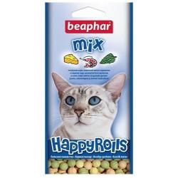 Лакомство Beaphar Happy Rolls Mix, 80 шт