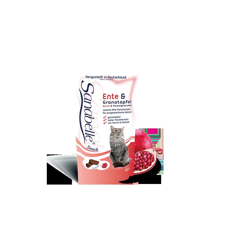 Bosch Sanabelle Cat Sticks Duck Pomegranate, 55 гр