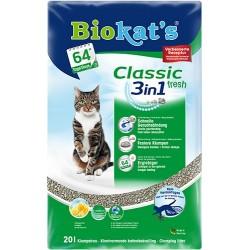 Biokat′s Classic fresh 3in1 Fresh три вида гранул (10 л)