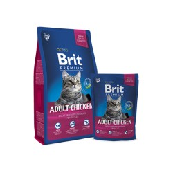 Brit Premium Cat Adult (Курица)