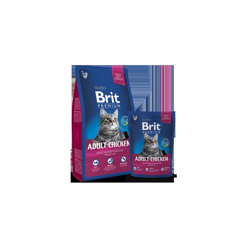 Brit Premium Cat Adult (Курица)