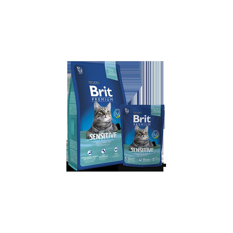 Brit Premium Cat Sensitive (Ягненок)