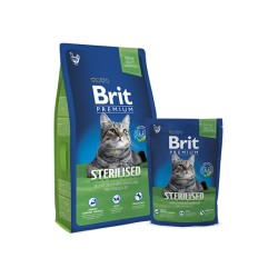Brit Premium Cat Sterilised (Курица)
